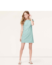 How to wear lace shift dress
