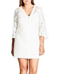 Plus size innocent lace shift dress medium 4913375