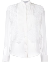 Givenchy Pleated Front Sheer Shirt