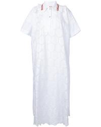 Antonio Marras Lace Patterned Shirt Dress