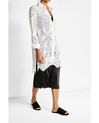 McQ by Alexander McQueen Mcq Alexander Mcqueen Lace Shirt Dress