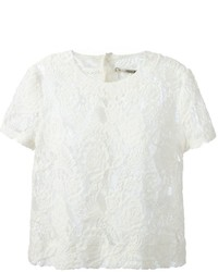 Short sleeve lace blouse medium 1362690