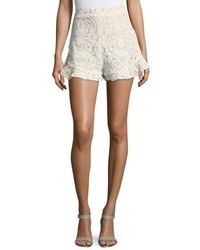 Barron lace high waist shorts medium 4380998