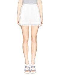 Helen Lee Guipure Lace Shorts