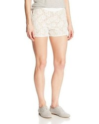 XOXO Juniors Lace Scalloped Short