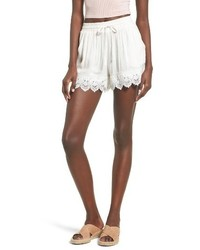 Lace hem shorts medium 3695174