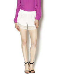 Lucy-Love Lucy Love Scalloped Lace Shorts