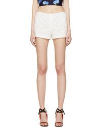 White lace boy shorts medium 216719