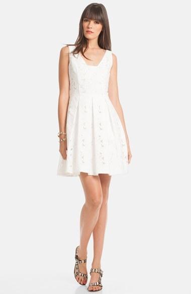 1f6e38e4d21 Trina Turk Ambros Lace Fit Flare Dress