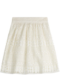 Philosophy di lorenzo serafini lace crochet skirt medium 432391