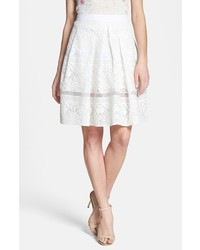 Rebecca Taylor Lace Flare Skirt