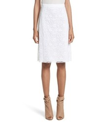 Burberry Drin Lace A Line Skirt