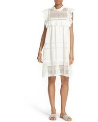 Baja lace cotton swing dress medium 3650540