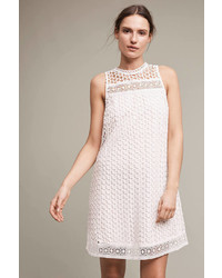 Maeve Mve Snowscape Lace Swing Dress