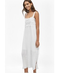 French connection posy lace strappy maxi dress medium 972195