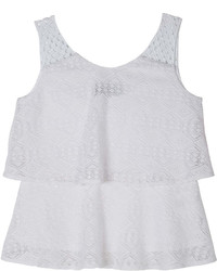JCPenney By And By Girl Byby Girl Tiered Crochet Top Girls 7 16