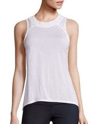 Alo Yoga Crest Lace Inset Tank Top