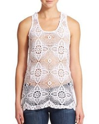 Young Fabulous & Broke Echo Lace Tank Top