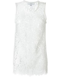 IRO Floral Lace Tank Top