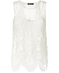 Twin-Set Lace Cami Top