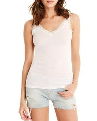 Michl stars lace trim tank medium 3761222