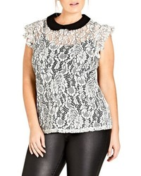 Plus size lady victoria lace top medium 4913975
