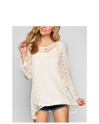 Blu Pepper Lace Tunic