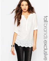 Vero Moda Tall Crochet Lace Detail Tunic