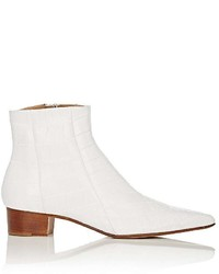The Row Alligator Ambra Ankle Boots