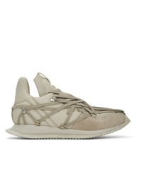 Rick Owens Off White Maximal Runner Sneakers