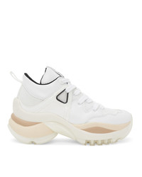 See by Chloe White Kayla Sneakers