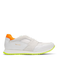 Paul Smith White Pioneer Sneakers