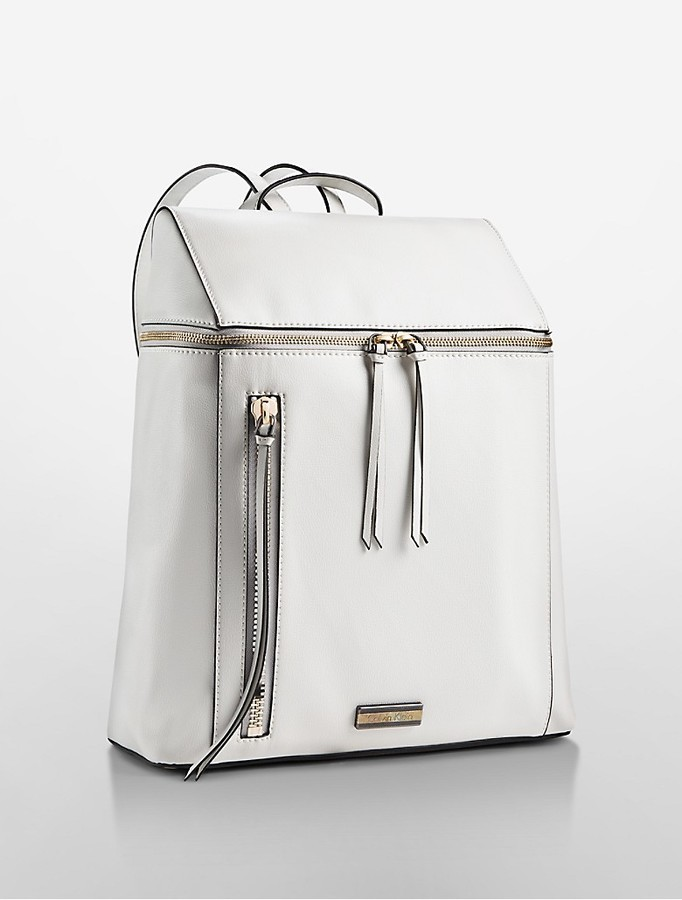 029c8af03d8 Calvin Klein Square City Backpack, $178 | Calvin Klein | Lookastic.com