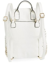 Expressions Nyc Perforated Faux Leather Backpack | Where to buy ...