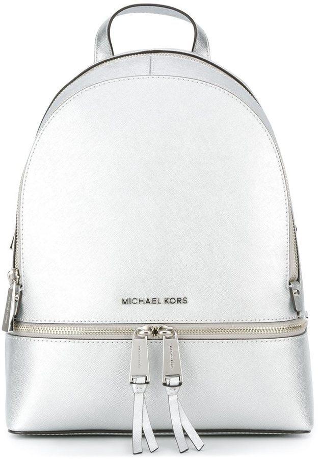 e77c08edf682 ... MICHAEL Michael Kors Michl Michl Kors Metallic Backpack