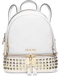 MICHAEL Michael Kors Michl Michl Kors Rhea Zip Small Pyramid Stud Backpack
