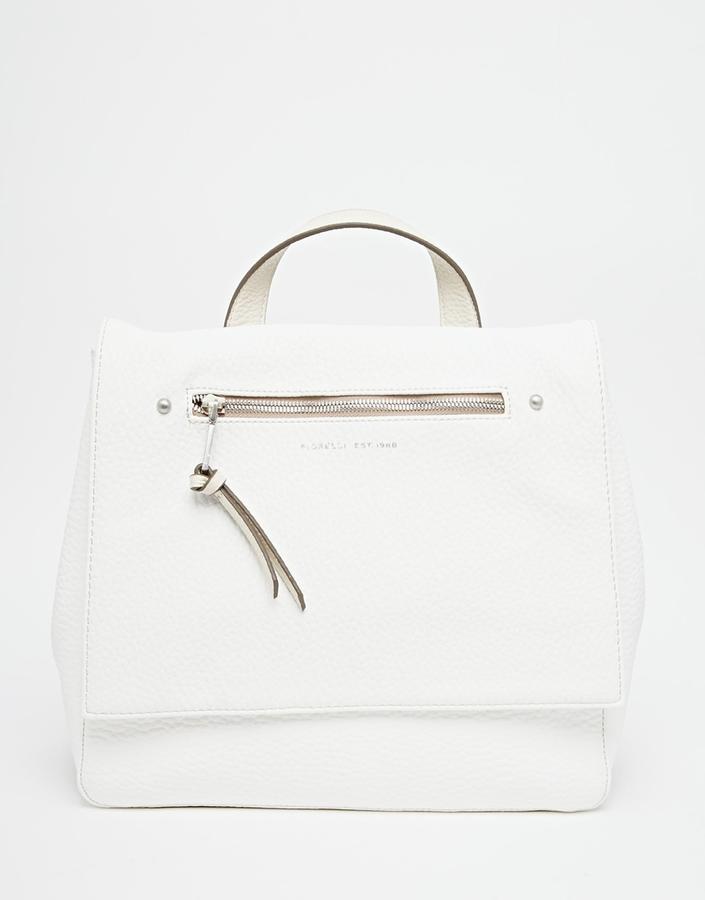 ... White Leather Backpacks Fiorelli Petra Backpack ...