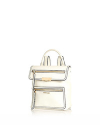 River Island White Structured Backpack