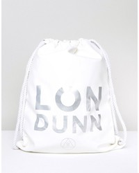 Missguided Londunn Faux Leather Drawstring Bag