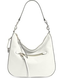 Marc Jacobs Recruit Leather Hobo Ivory