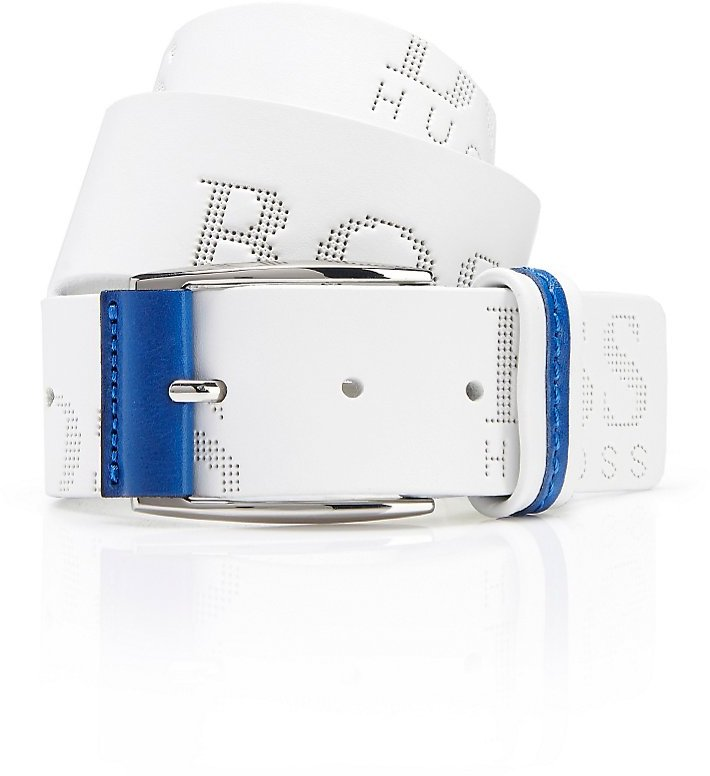 Hugo Boss Torialo Belt White