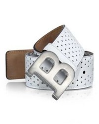 Bally Perforated Leather Belt