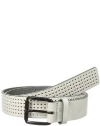 Original Penguin Perforated Leather Belt