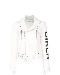 Off-White Biker Print Jacket