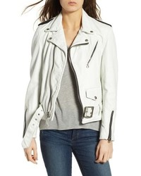 Schott NYC Boyfriend Leather Jacket