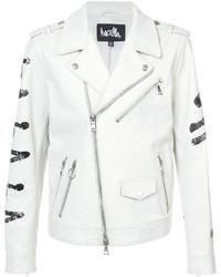 Haculla eyez on death biker jacket medium 6870420