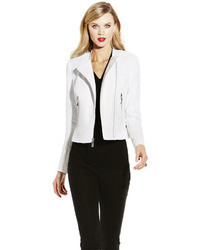 Vince Camuto White Faux Leather Jacket