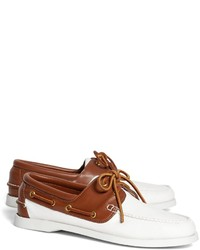 Brooks Brothers Leather Boat Shoes
