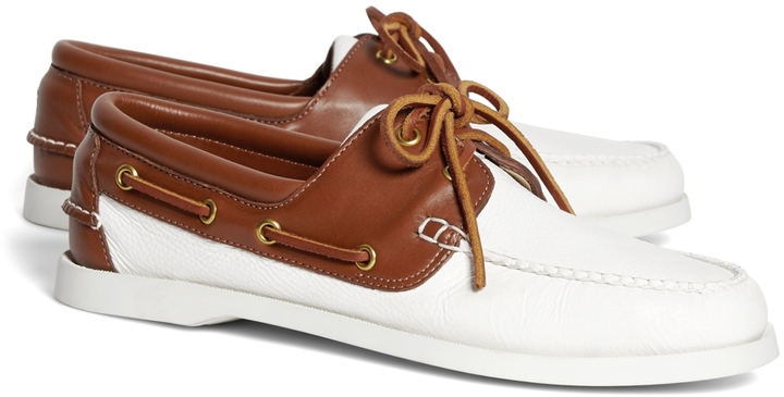 Brooks Brothers Leather Boat Shoes | Where to buy & how to wear