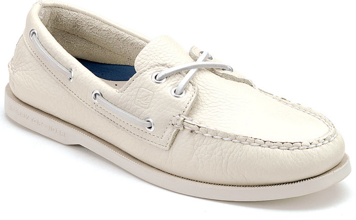 The Sperry Top-Sider A/O Satin Lace Boat Shoe takes a classic boat shoe and adds a luxurious satin touch with fashionable laces an d retains Sperry's patented Wave .